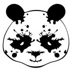 Rorschach panda