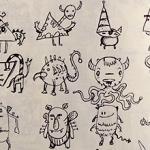 Random Creature Doodles
