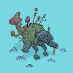 Old mushroom man