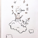 Day 31 of #Inktober #inktober2018 🎉🎉🎉 . . . . . #ink #characterdesign #illustration #dailyart