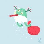 Ho-ho-ho! #illustration #illustrationartists #christmas