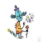 Wizard. #illustration #characterdesign #creaturedesign #drawing #procreate #digitalart #painting