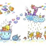 Water magic . . . . . #characterdesign #character #drawing #draw #paint #painting #colors #digitalart #procreate #illustrationgram #illustration_daily #illustratoroninstagram #illustrationoftheday #artistsoninstagram #digitalartwork #instaart #illustrated #childrensillustration #artwork #kidlitart #whimsicalart #illustration #illustrator #drawing #creature #digitalpainting